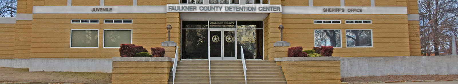 Faulkner County Detention Center Entrance.